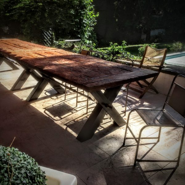 Grande Table de Jardin