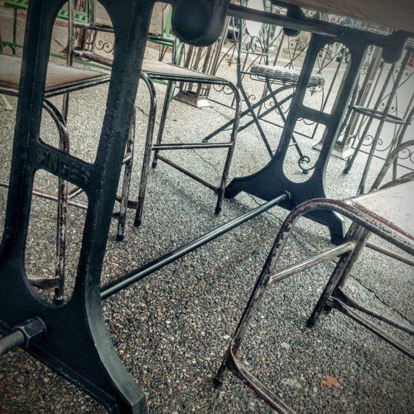 Piétement de Table en Acier