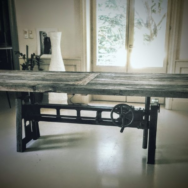 Grande Table Industrielle VitaDeco