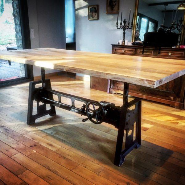 Table de Salon réglable en Hauteur