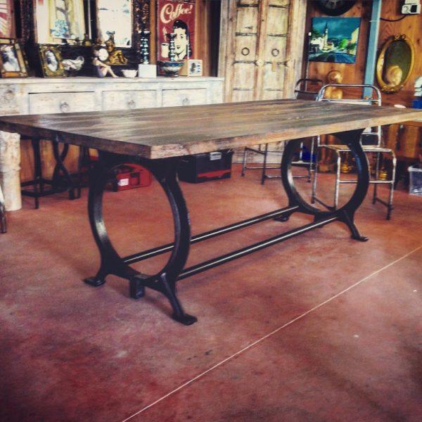 Table de Salon Style Industriel