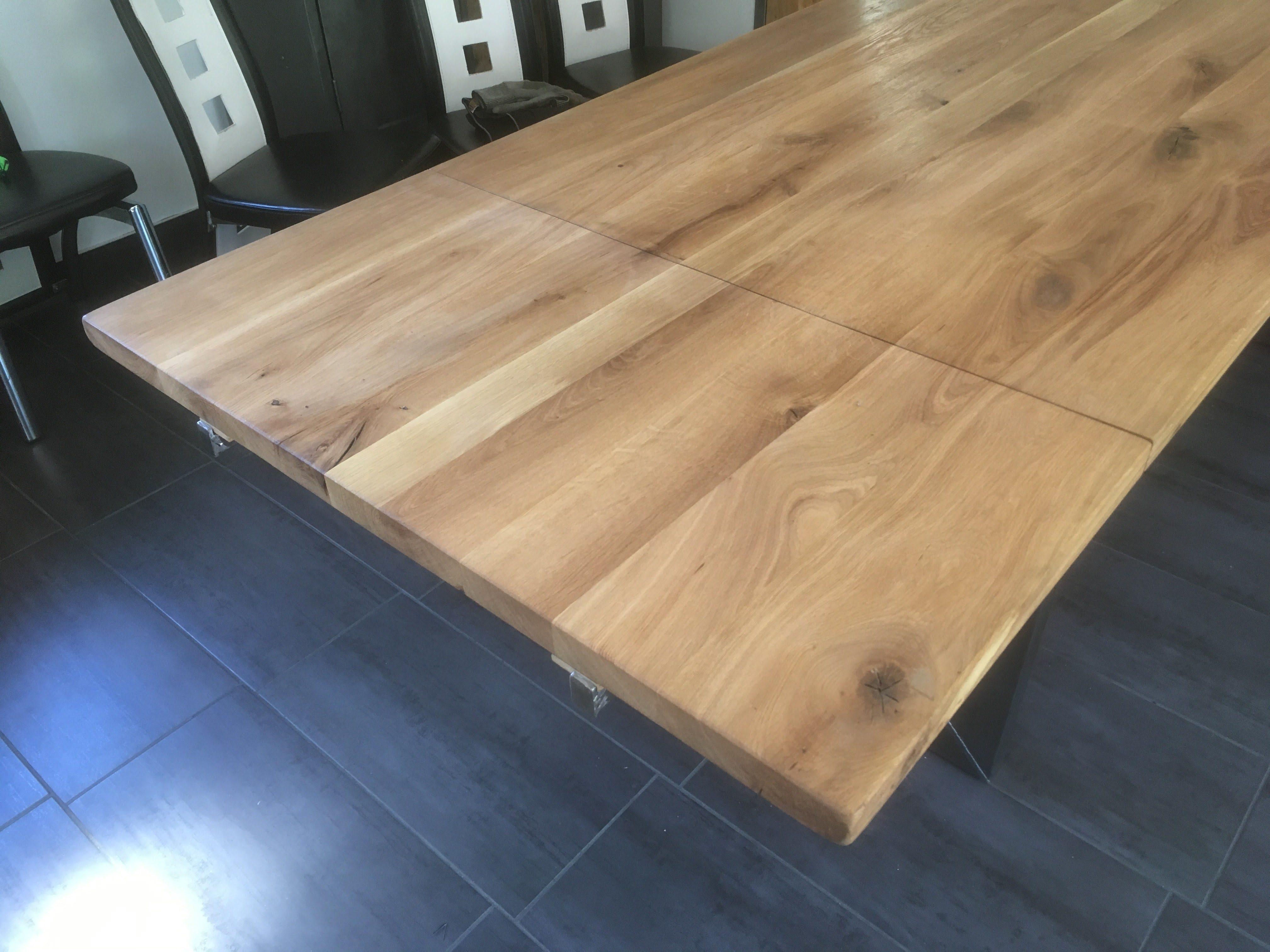 syst me de rallonge pour table en bois cr ation sur mesure. Black Bedroom Furniture Sets. Home Design Ideas