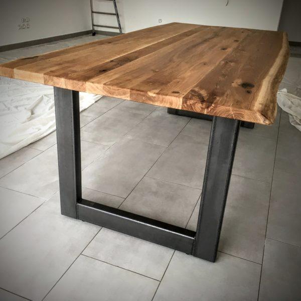 Table Bois Métal Lyon