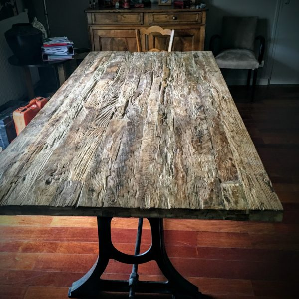 Table de Salon Bois brut