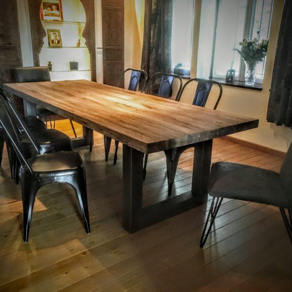 Table et Chaises Métal