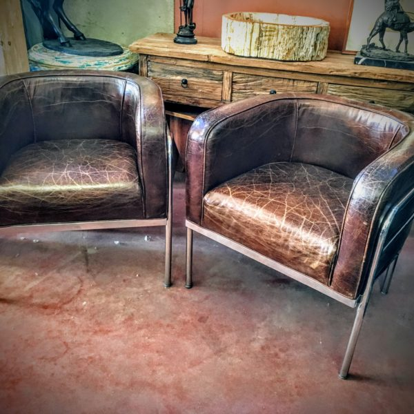 Fauteuil Cuir design Chicago