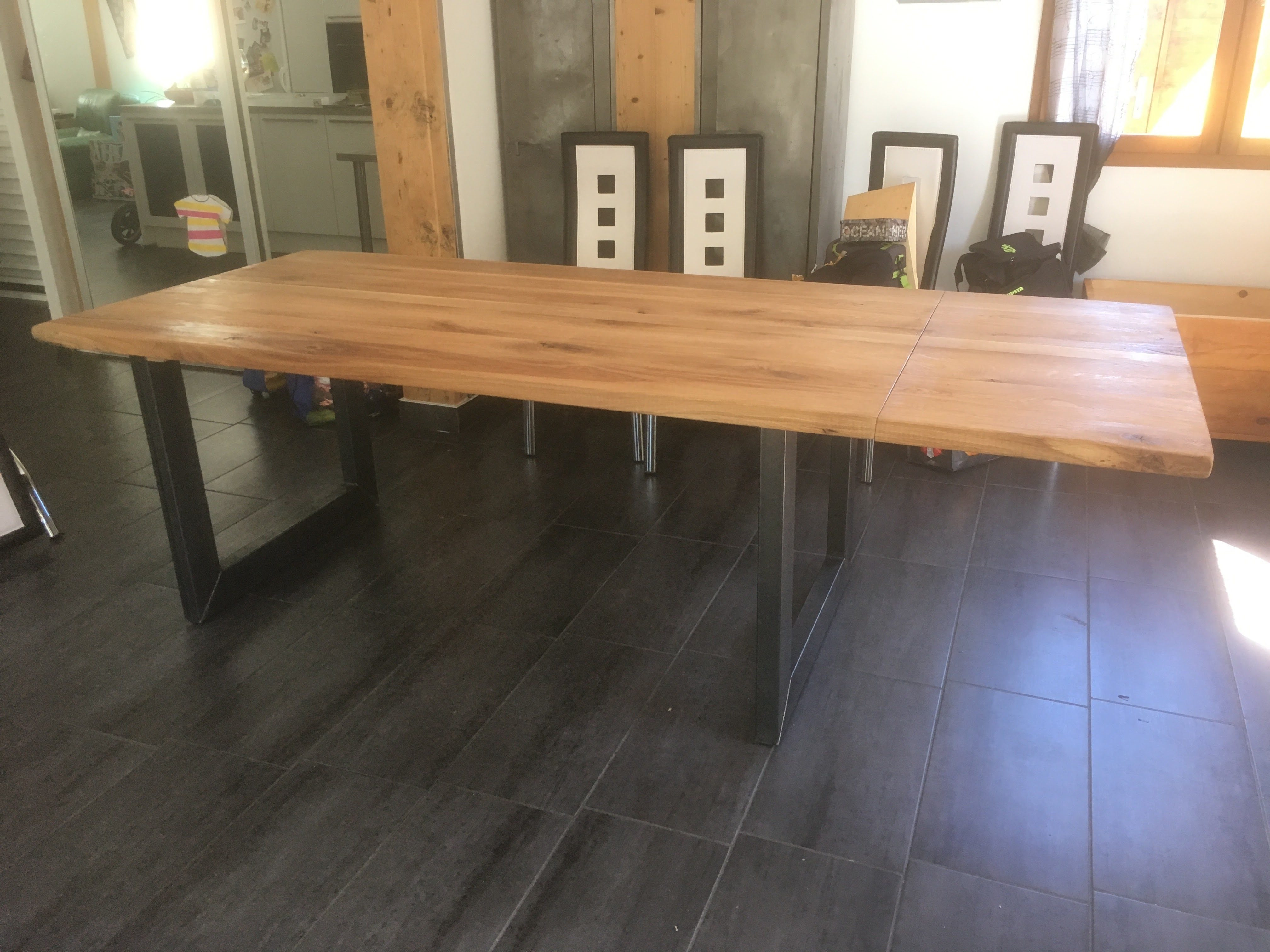 Systeme De Rallonge Pour Table En Bois Creation Sur Mesure