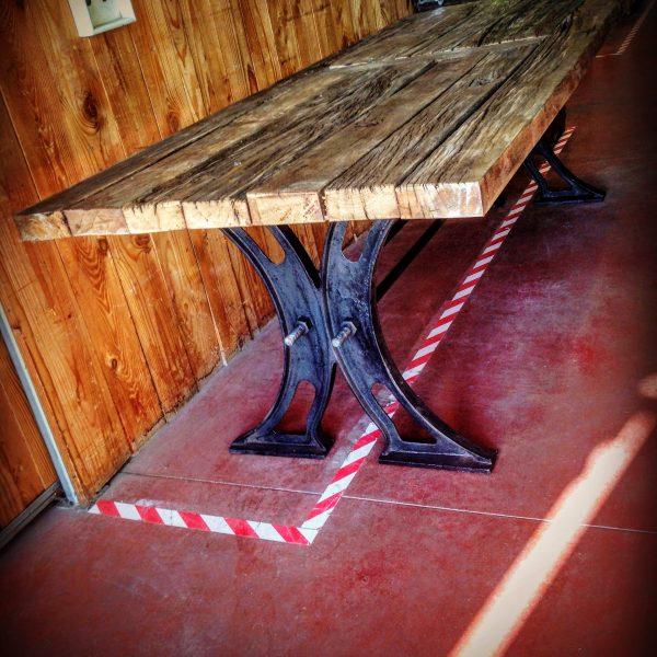 Table de Salon Puces du Canal