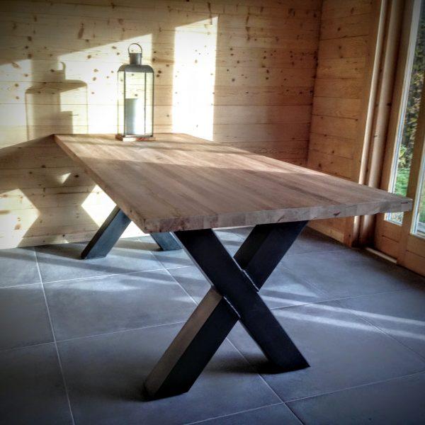 Table de Salon Pieds Croisés