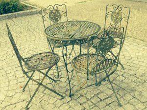 Salon de jardin en fer forg style anglais victorien - Salon de jardin en anglais ...