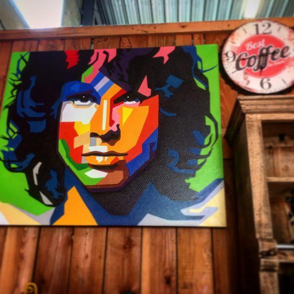 Tableau de Jim Morrison