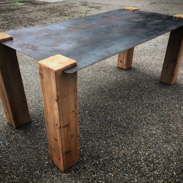 Table Design Industriel Vitadeco