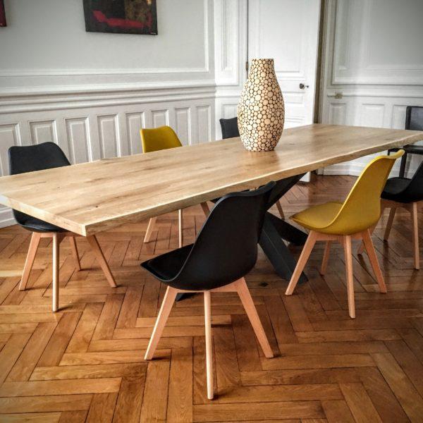 Table et Chaises Pied Central Lyon