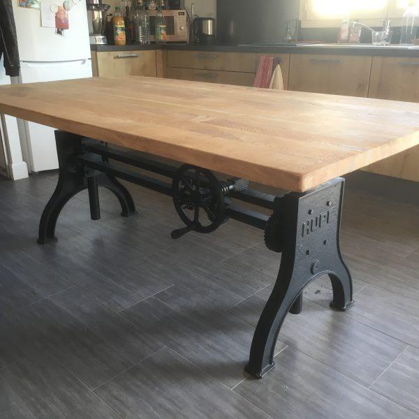 Table de Salon transformable en Mange Debout