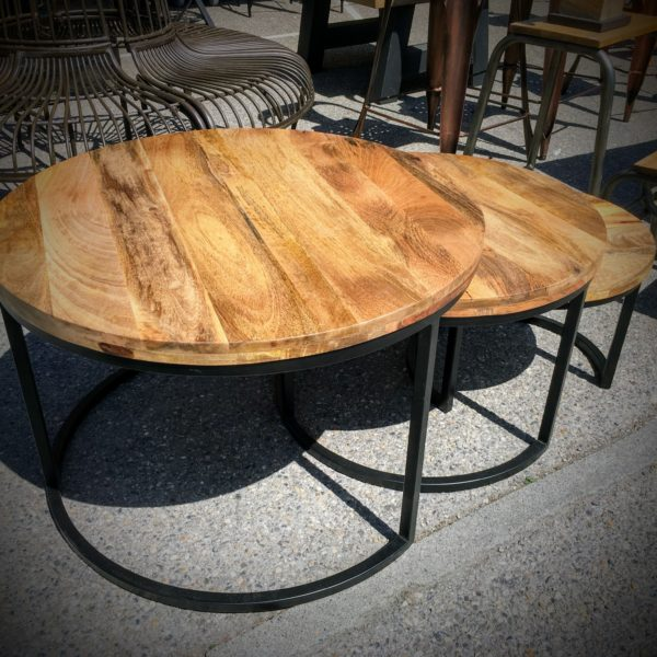 Tables Basses Rondes Lyon